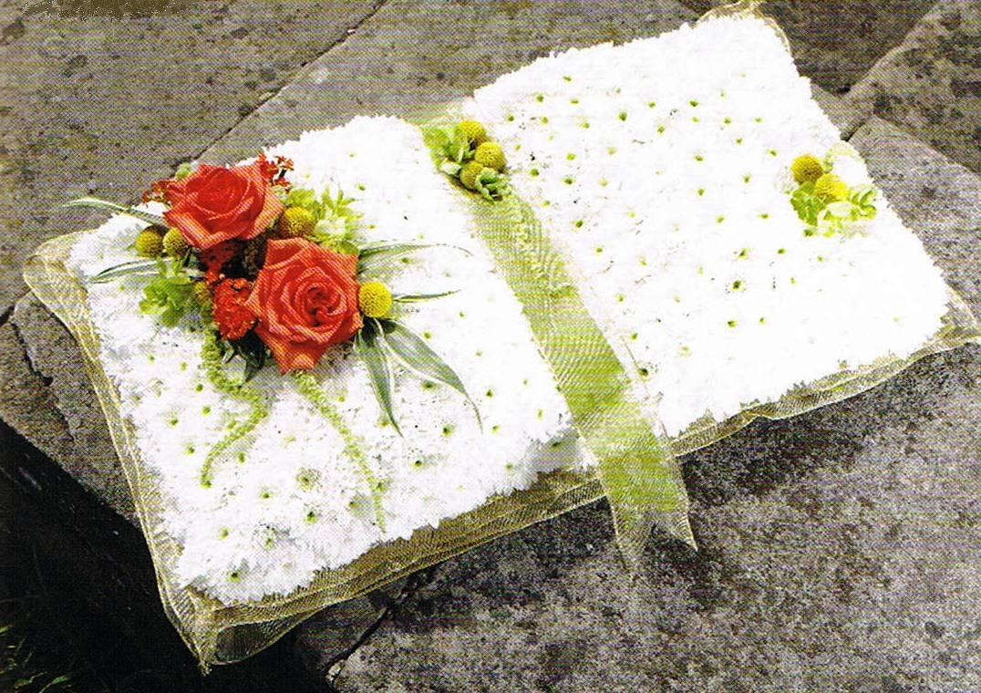 Open book floral fusions leicester based florist for wedding open book izmirmasajfo Choice Image