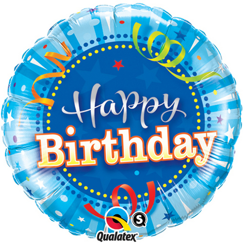 Celebrations & Occasions Party Supplies Happy Birthday Bright Stars 18 Helium Foil Balloon